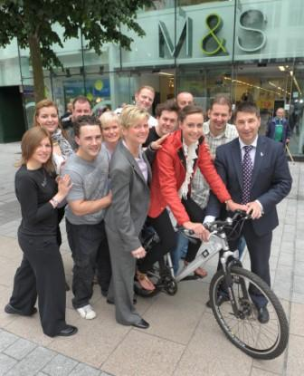 M&S Douglas employee gears up for £1M Charity Cycle Challenge