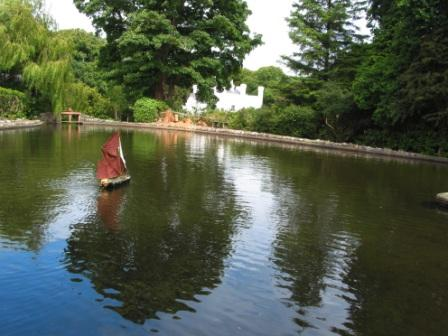 The Milntown Model Boat Pageant, Milntown Lake, Jubilee Day July 6th