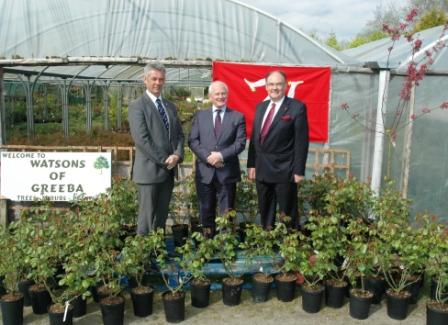 IOM sends 60 Tynwald rose bushes to mark Queen's Diamond Jubilee
