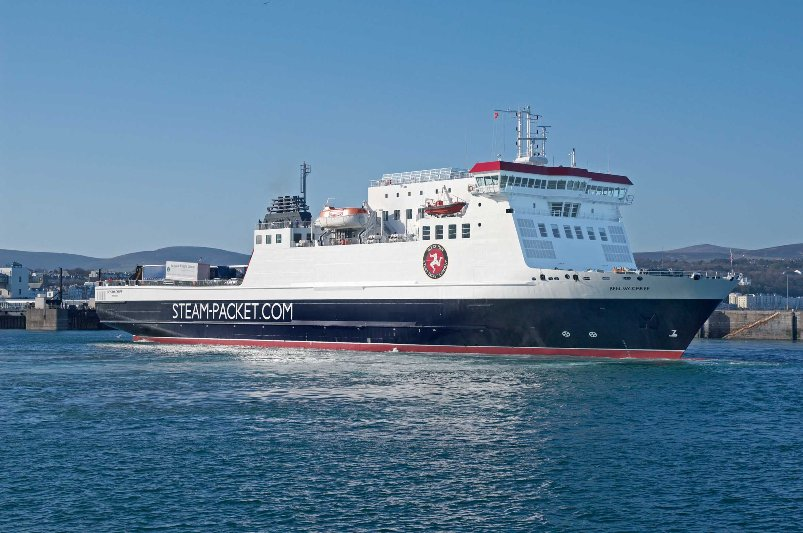 Ben-My-Chree to Enter Dry Dock for Overhaul