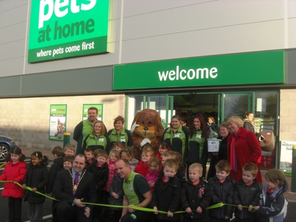 December 2011: Pet superstore Pets at Home opens its doors