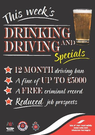 "December 2011: Campaign launched to highlight ""special offers"" for drink drivers"