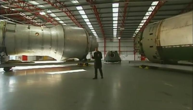 November 2011:Channel 4 highlights the Isle of Man's space industry