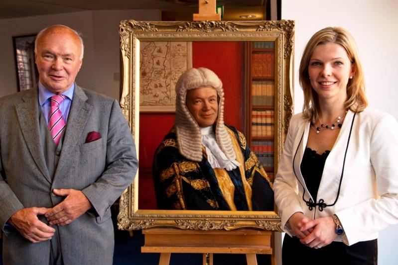 David Cannan becomes 11th Speaker to be honoured in House of Keys gallery