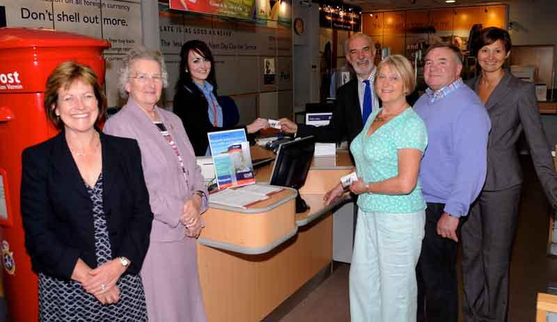 Post Office links with Friends of Manx National Heritage for payment of membership fees