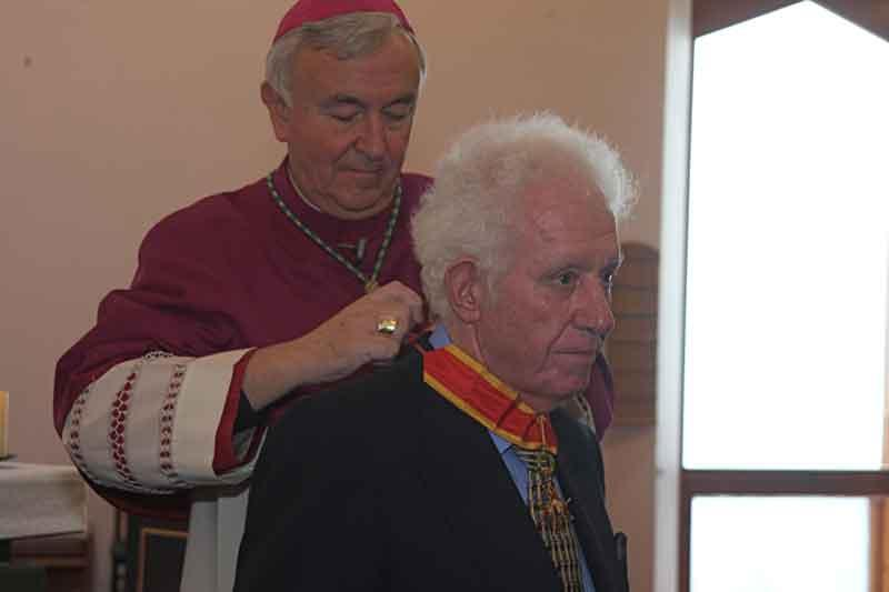 Pope gave personal consent for Albert Gubay honour