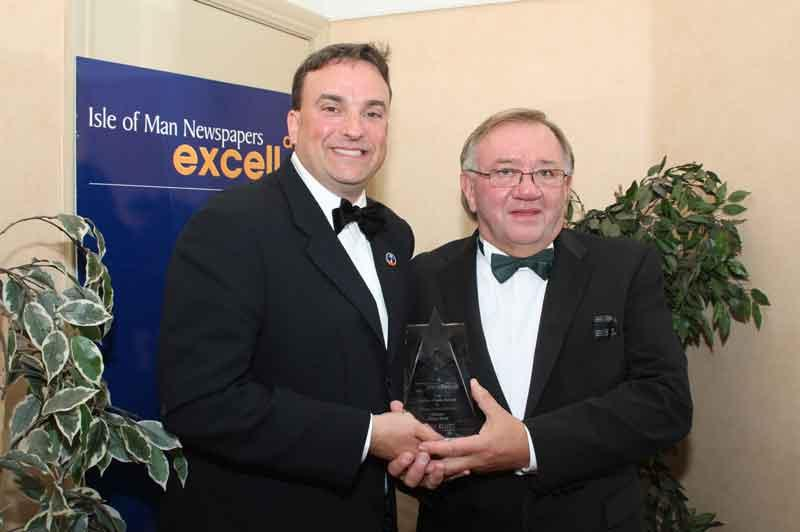 Chris Stott named as 'Business Person of the Year'