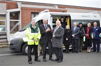 Patient Transport Ambulance Donated to Ramsey & District Cottage Hospital