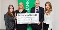 Isle of Man Bank's customers and staff raise £9,500 for farming disaster fund