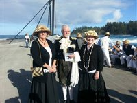President of Tynwald attends Norfolk Island's Bounty Day