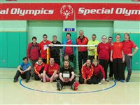 Floorball comes to the Isle of Man courtesy of Special Olympics Austria