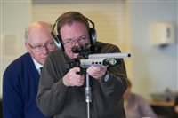 Shooting Open Day attracts over 100 people to Manx Bind Welfare Society