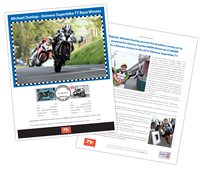 Post Office celebrates historic Dainese Superbike race at the 2014 TT