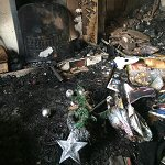 House fire ruins family's Christmas