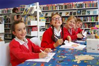 Pupils team up with Family Library for project on favourite author