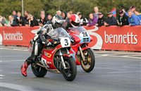 Incidents and weather curtail Classic TT Qualifying session for Classic TT