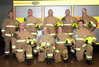 Fire and Rescue Service recruit wins Silver Axe