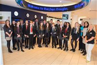 Junior Achievement and Barclays celebrate five years of student open days