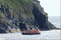 Peel lifeboat launched to search for dog