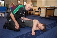 Ramsey Town Commissioners hosts St John Ambulance first aid training session