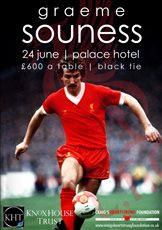 Graeme Souness to speak at annual charity dinner
