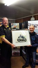 Southern 100 Competitor Honoured by Castletown Commissioners