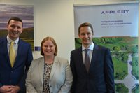 Appleby announces Partner promotions