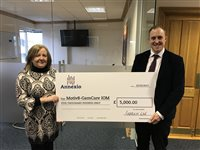 Annexio announces £5,000 donation to GamCare Isle of Man