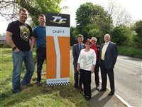 TT corner named in memory of Raymond Caley
