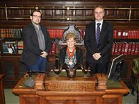 ICAEW president visits Island - Speaker Watterson picks up top-level post in London