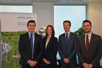 Appleby appoints four new associates
