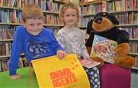 Young detectives urged to read books and catch the crooks!