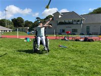 Pupils with disabilities enjoy athletics festivals