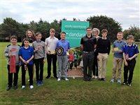 Award-winning homebuilder Dandara continues support for youngsters at Peel Golf Club