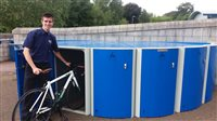 Bike pods encourage customers and staff to cycle to NSC