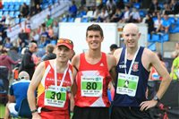 400 cross the finish line at Microgaming Isle of Man Marathon, Half Marathon & Marathon Relay