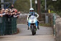 Harrison wins sensational Superbike race as records tumble at Classic TT