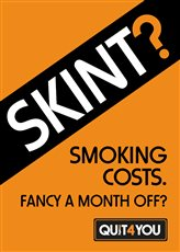 Smoking costs – how about a month off this October?