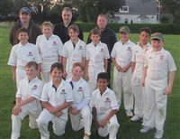 Newfield sponsorship assists Castletown Cricket Club to share the sport with new players