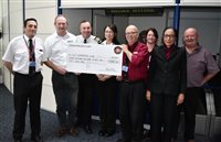 Steam Packet Company passengers donate £11,000 to MGP charity