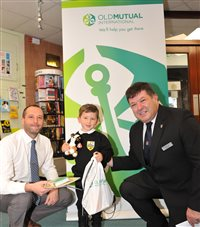 Young detectives receive prizes in Old Mutual International sponsored reading challenge