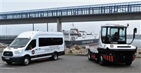 Steam Packet Company invests £200,000 in new port vehicles