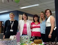 Wi-Manx take part in The World's Biggest Coffee Morning