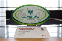 Chance to win signed England ball at Old Mutual International junior rugby festival