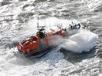 Douglas RNLI lifeboat launched to assist in search for missing person