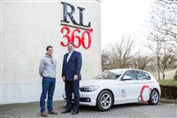RL360° presents car to Olympic shooter Tim Kneale