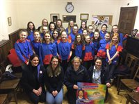 St Thomas Guides support Rebecca House