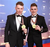 Birchall brothers honoured to receive medals at FIM awards ceremony