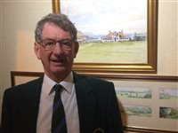 Mike Kewley retires as Captain & Honorary Secretary of Rowany Golf club