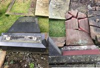 Appeal for help after headstones are damaged